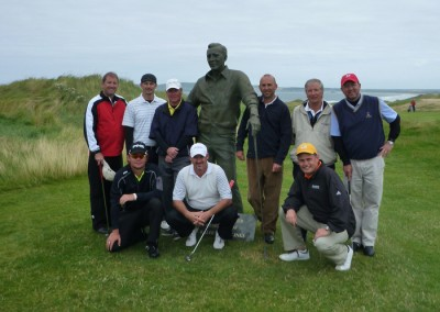 Wade Party, and Arnold Palmer too! At Tralee Golf Club in County Kerry