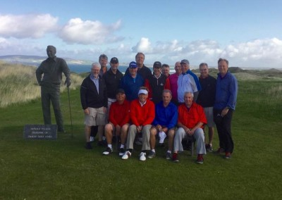 Lewins Party - with Arnold Palmer! Tralee Golf Links in County Kerry