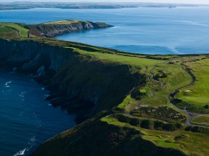 Hole No. 16 (17th at Old Head of Kinsale)