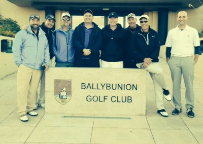 Hallo to the Harrington Party at Ballybunion Golf Club in County Kerry